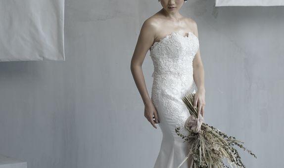 FOR RENT | Queen Anne Mermaid Wedding Gown