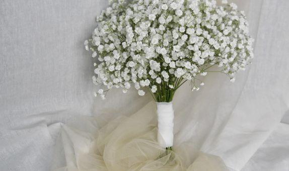 Baby's Breath Hand Bouquet