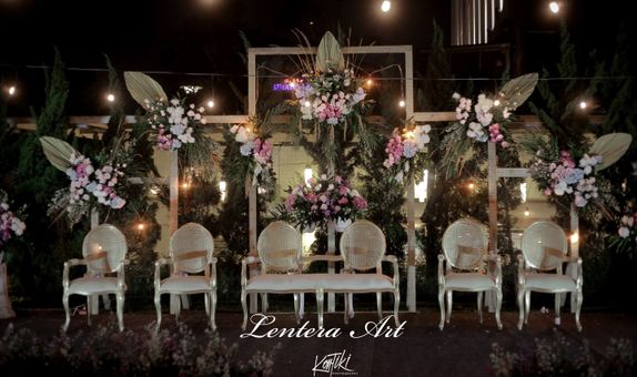 Lentera Art Decoration - Paket Gold Pernikahan