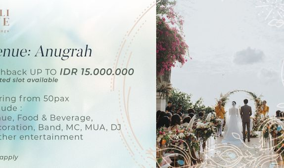Anugrah Villa Customize Wedding Package