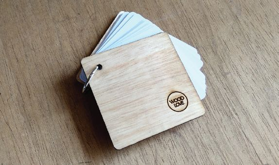 Memo Pad by WoodLove