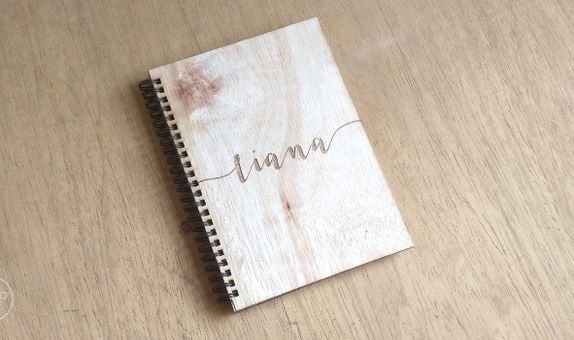 Note Book by WoodLove