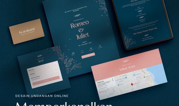 Undangan Online / Undangan Digital / Undangan Website - Desain Barata
