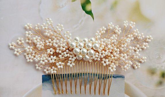 PITA Ivory Comb
