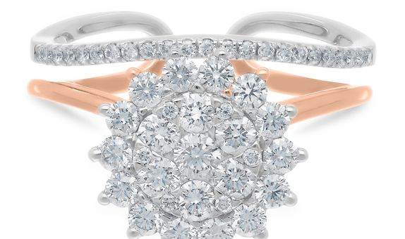 Diamond Ladies Ring CWF1190
