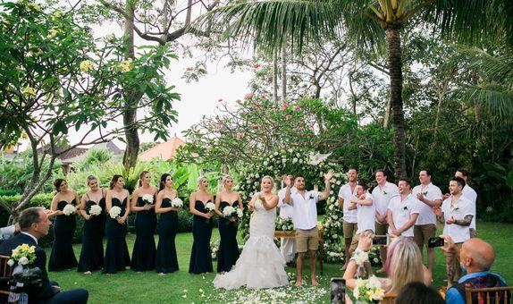 Sunset Garden Wedding