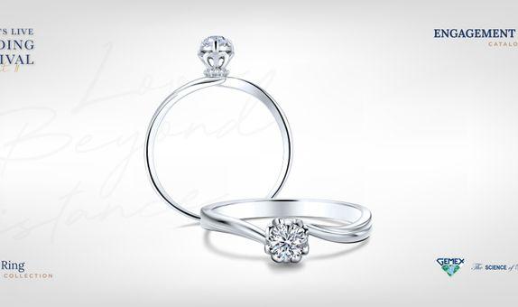 Adelle Jewellery Regalia I Promise - Diamond Ring - Cincin Tunangan