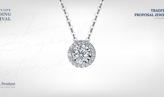 Adelle Jewellery Chelsea Diamond Pendant - Liontin Berlian