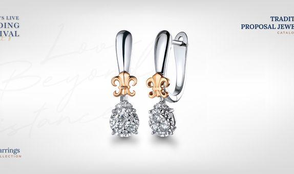 Adelle Jewellery Lilith Diamond Earring - Anting Berlian