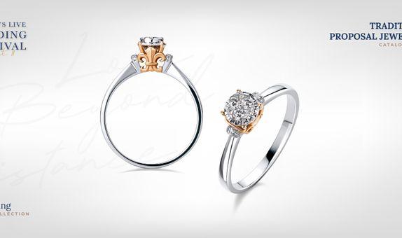 Adelle Jewellery Lilith Diamond Ring - Cincin Berlian