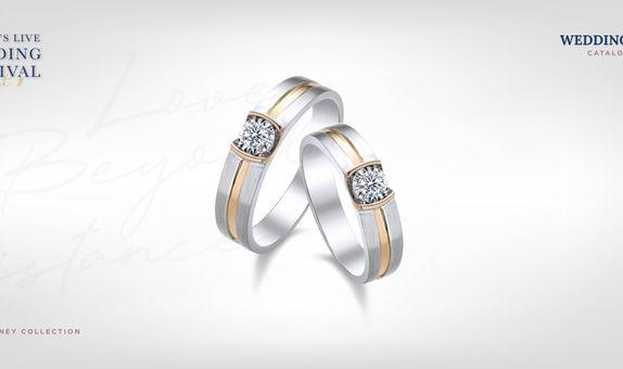 Adelle Jewellery Unity Wedding Ring - Cincin Pernikahan