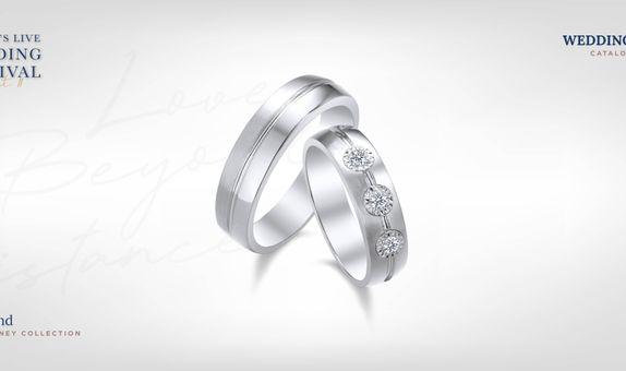 Adelle Jewellery The Bond Wedding Ring - Cincin Pernikahan