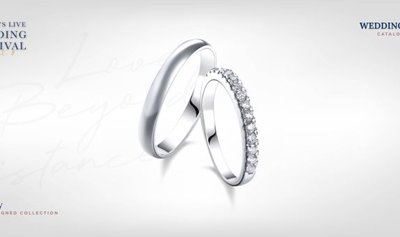 Adelle Jewellery Eternity Wedding Ring - Cincin Pernikahan
