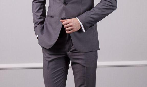 Grey Business Suit | Jas Bisnis Abu-abu