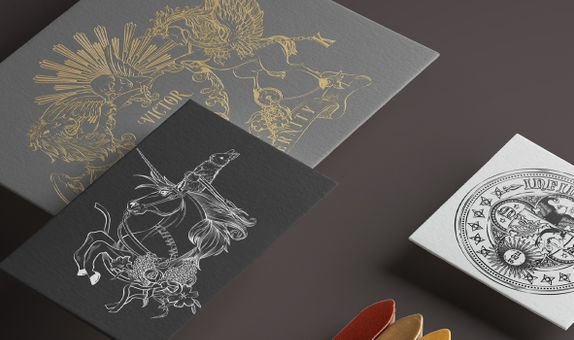 Custom Hand-Drawn Wedding Crest