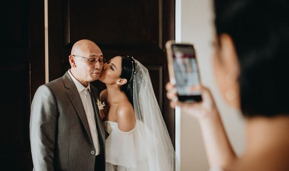 Small Intimate Wedding Photo by Michael Omar