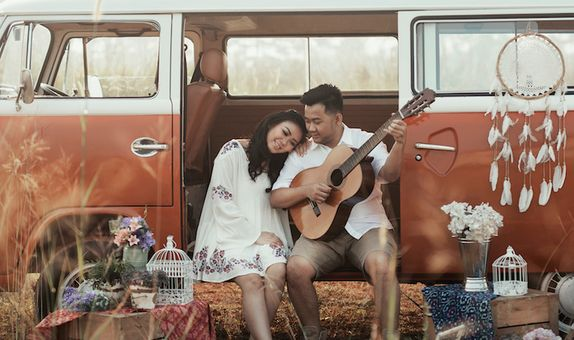 Cinnamon Prewedding Pack - 1 Day Indoor / Outdoor - Jadetabek Area
