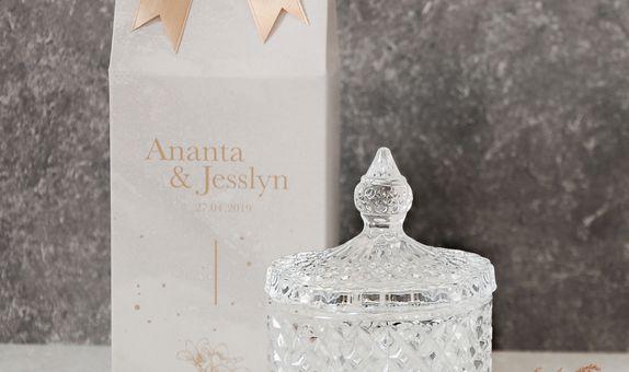Crystal jar - CG 35