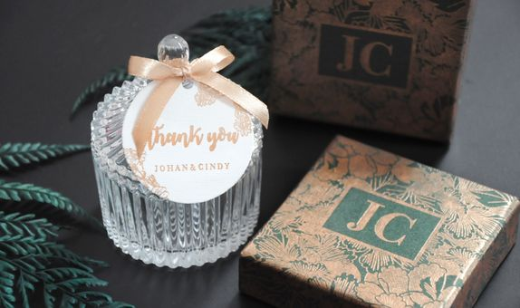 Mini crystal jar - CG 41