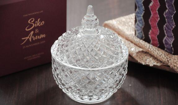 Crystal jar - CG 43