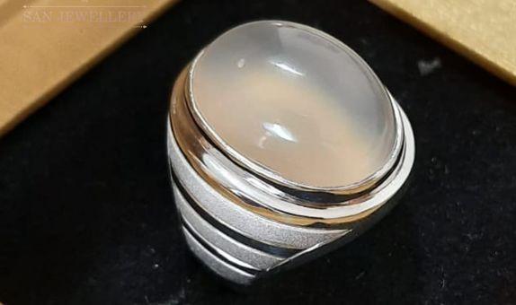 cincin perak batu custom