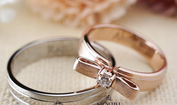 Cincin Palladium Custom untuk Lamaran dan Nikah