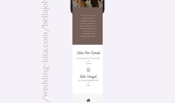 Undangan Pernikahan Website Custom 2