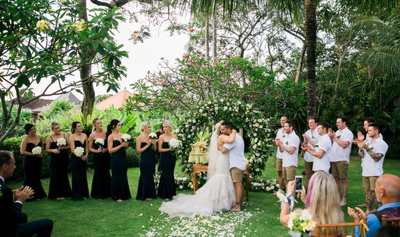 Hidden Secret Garden Wedding Package 150 pax