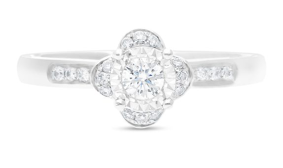 Diamond Ladies Ring R12363-45