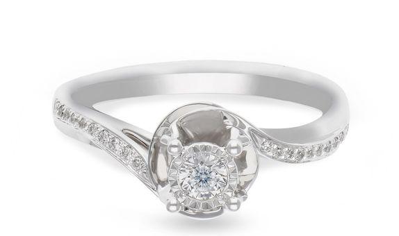 Diamond Ladies Ring R13325C-30