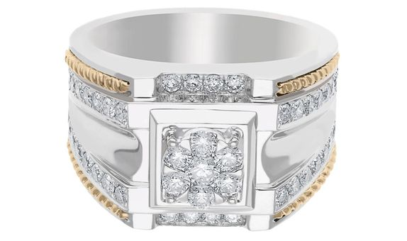 Diamond Mens Ring M17021
