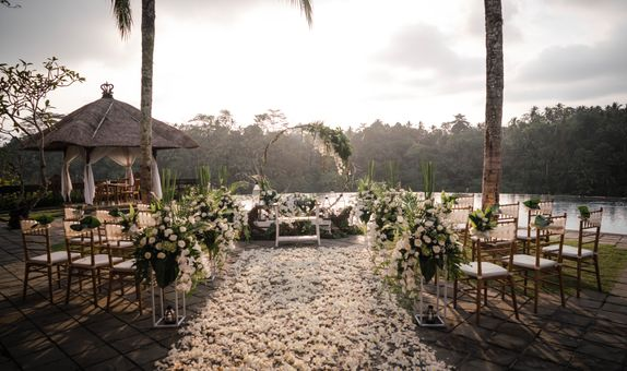 Puri Wulandari Ubud Intimate Wedding For Two