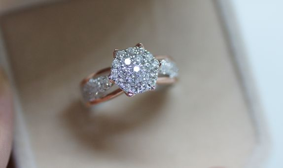 Crystals Jewelry - Rosegold ring