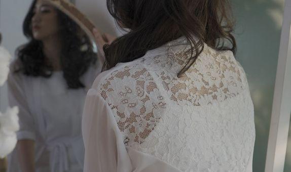 Persephone Bridal Robe