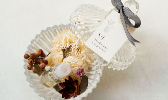 Vintage Crystal Potpurri with Fragrance Vial