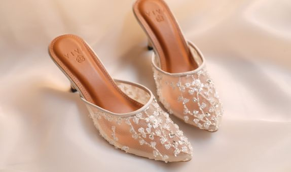 Wedding Shoes Custom Basic - Aubrieta (heels 7 cm )