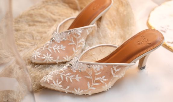 Wedding Shoes Custom Basic - Elena (heels 7cm)