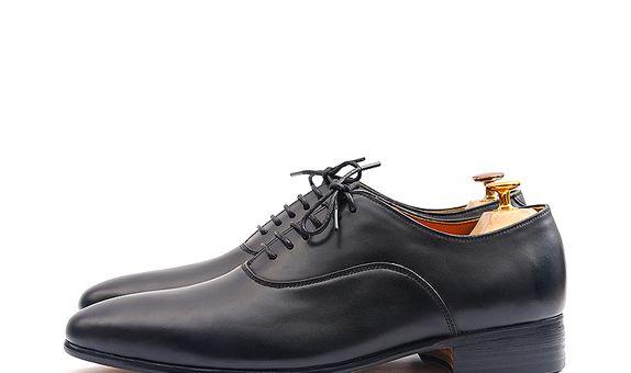 Sepatu Pengantin Pria - Edgar Classic Black