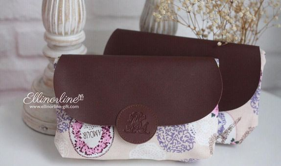 Pouch Canvas Leather Flap (REGULAR)