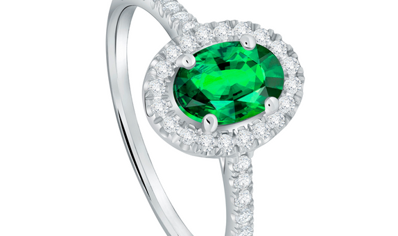 The Palace Ring Emerald Precious Stone