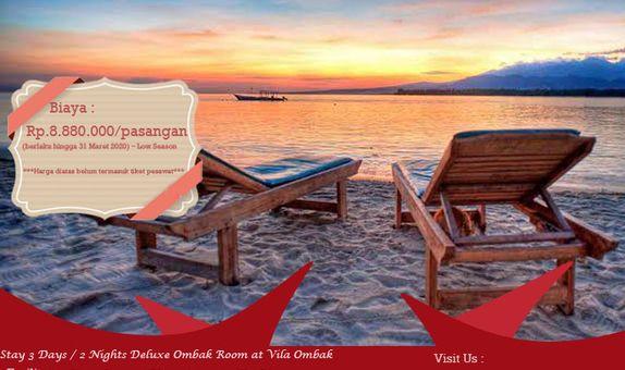 Paket Honeymoon Love Sunset In Gili Trawangan
