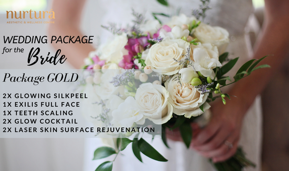 Perawatan Kecantikan Wedding Package GOLD