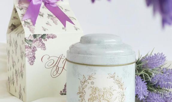 Tea Tin - Parisian