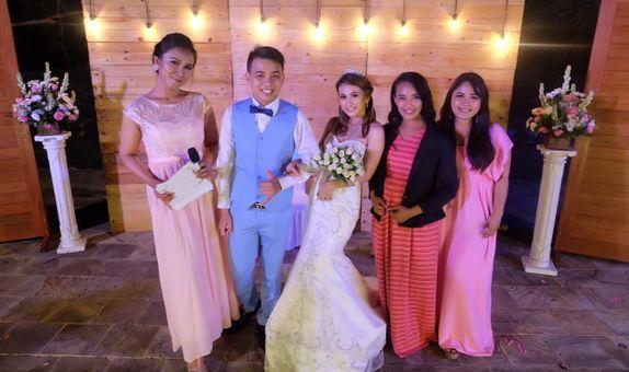 MC Wedding in English
