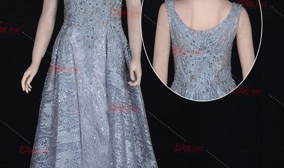 Gaun pesta biru 31978