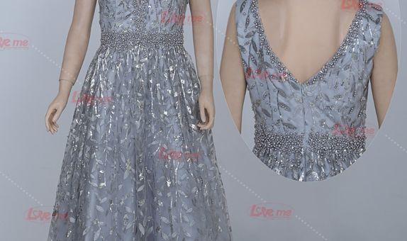 Gaun pesta biru 31996