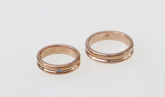 SIORAI Wedding Ring 02181344A01A Cincin Wedding Berlian (Pre Order)