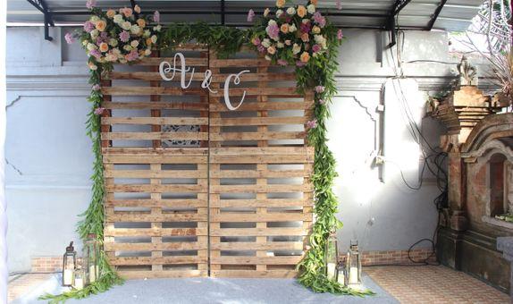 Balinese Standard Wedding Decoration