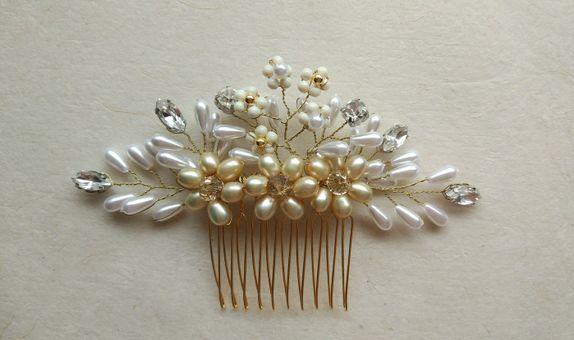 AMARA 1 Gold Silver Comb