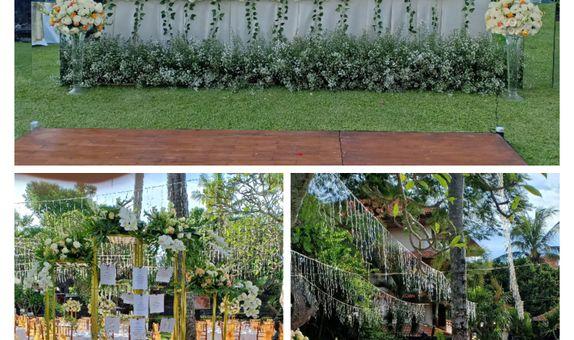 Sekar Jagat Bali - Dinner Dekorasi Outdoor 100 orang